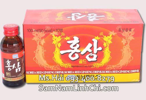 Nước uống hồng sâm Hàn Quốc - Korean Red Ginseng Drink